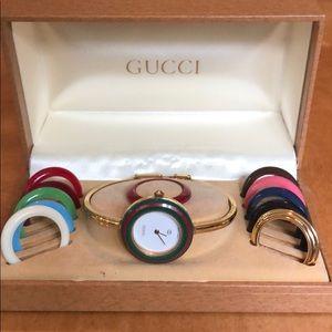 Authentic Vintage Gucci Bracelet watch
